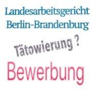 LAG Berlin Brandenburg: Bewerber bei Berliner Polizei mit sichtbarer Tätowierung