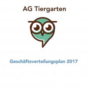 Amtsgericht Berlin-Tiergarten Geschäftsverteilungsplan 2017
