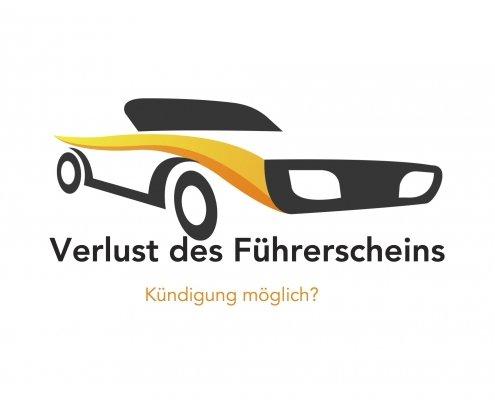 Verlust des Führerscheins-fristlose Kündigung möglich?