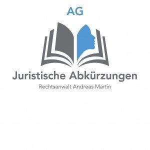 Juristische Abkürzungen: heute AG