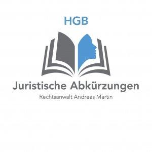 juristische Abkürzungen: heute HGB