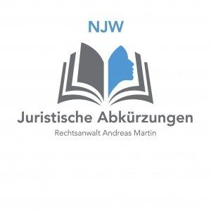 juristische Abkürzungen heute: NJW