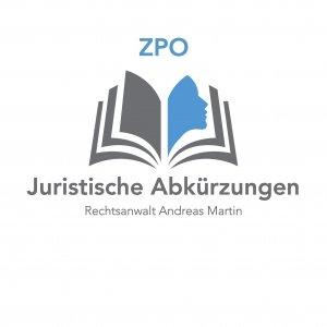 juristische Abkürzungen- heute ZPO